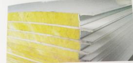 玻璃丝棉夹芯板